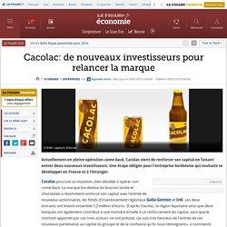 Cacolac: de nouveaux investisseurs pour relancer la marque