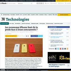 Les nouveaux iPhone font-ils le poids face à leurs concurrents ?