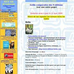 nouveaux lives de svt 3ème 2008