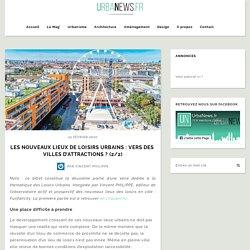 Les nouveaux lieux de loisirs urbains : vers des villes d'attractions ? (2/2)