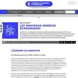 Les nouveaux modèles économiques