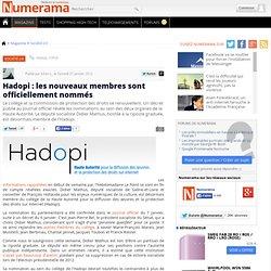 Hadopi : les nouveaux membres sont officiellement nommés