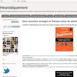 Deux nouveaux ouvrages en français autour du sketchnoting