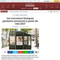 Les nouveaux kiosques parisiens arriveront à partir de l'été 2017