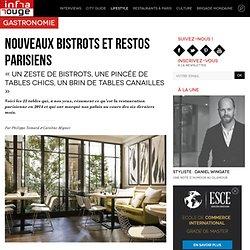 Nouveaux bistrots et restos parisiens - Infrarouge
