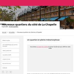 Nouveaux quartiers: du côté de La Chapelle – Paris.fr