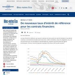 De nouveaux taux d'intérêt de référence pour les contrats financiers