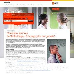 Nouveaux services – La Bibliothèque, à la page plus que jamais! - Bibliothèque