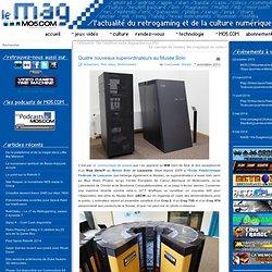 Quatre nouveaux superordinateurs au Musée Bolo
