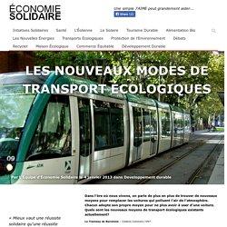 Les nouveaux modes de transport écologiques