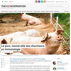 THE CONVERSATION 17/12/18 Le porc, nouvel allié des chercheurs en immunologie
