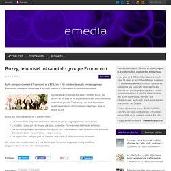 Buzzy, le nouvel intranet du groupe Econocom