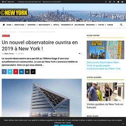 Nouvel observatoire à New York