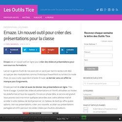 Emaze. Un nouvel outil pour créer des présentations pour la classe – Les Outils Tice