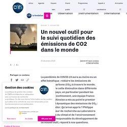 Un nouvel outil pour le suivi quotidien des émissions de CO2 dans le monde