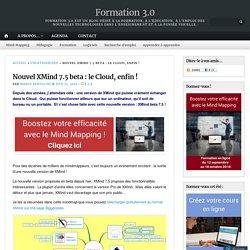 Nouvel XMind 7.5 beta : le Cloud, enfin ! – Formation 3.0