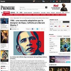 1984 : une nouvelle adaptation par le designer de Hope, l'affiche pro-Barack Obama ?