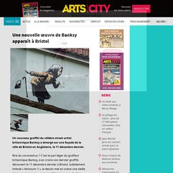 Une nouvelle œuvre de Banksy apparaît à Bristol