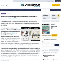 Kaniti, nouvelle application de social commerce