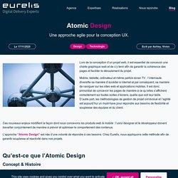Eurelis.com - Atomic Design, nouvelle approche de conception UX