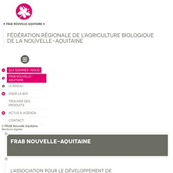 Qu'est-ce que la FRAB Nouvelle-Aquitaine et quelles sont ses missions