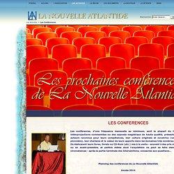 La Nouvelle Atlantide - Les Conférences