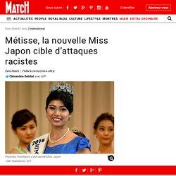 Métisse, la nouvelle Miss Japon cible d'attaques racistes