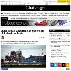 En Nouvelle-Calédonie, la guerre du nickel est déclarée- 18 novembre 2014