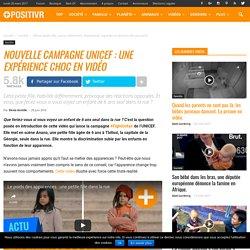 Nouvelle campagne UNICEF : une expérience choc en vidéo