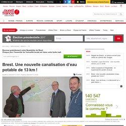 Brest. Une nouvelle canalisation d'eau potable de 13km!