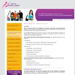 Lycée de la Nouvelle Chance - Les étapes du recrutement