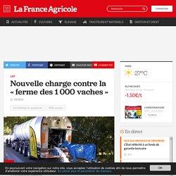 Lait : Nouvelle charge contre la «ferme des 1000 vaches»