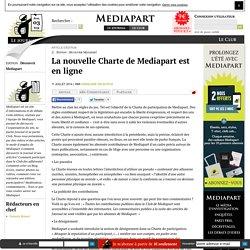 La nouvelle Charte de Mediapart est en ligne
