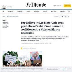 Pap Ndiaye: «Les Etats-Unis sont peut-être à l'aube d'une nouvelle coalition entre Noirs et Blancs libéraux»