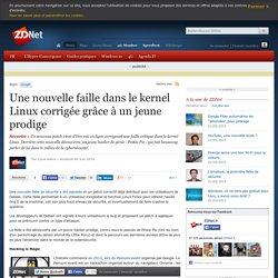Une nouvelle faille dans le kernel Linux corrigée grâce à un jeune prodige