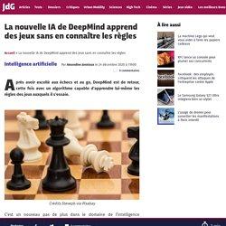La nouvelle IA de DeepMind apprend des jeux sans en connaître les règles
