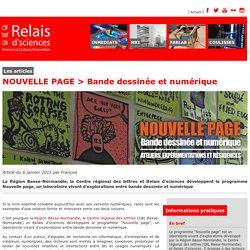 NOUVELLE PAGE > Bande dessinée et numérique