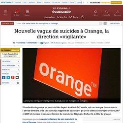 Nouvelle vague de suicides à Orange, la direction «vigilante»