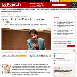 La nouvelle carte de France de l'éducation prioritaire