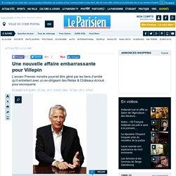 Une nouvelle affaire embarrassante pour Villepin - Presidentielle 2012