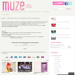 une nouvelle formule en librairie. | blog.muze.fr