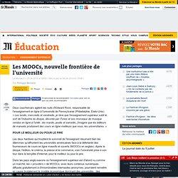 Les MOOCs, nouvelle frontière de l'université