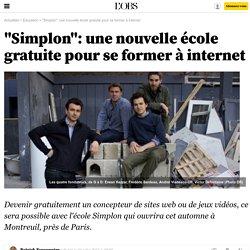 """""""Simplon"""": une nouvelle école gratuite pour se former à internet"""