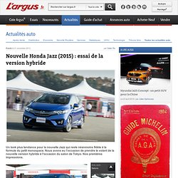 Honda Jazz : essai de la version hybride