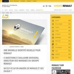 Une nouvelle identité de marque pour Renault