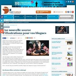 Une nouvelle source d'illustrations pour vos blogues