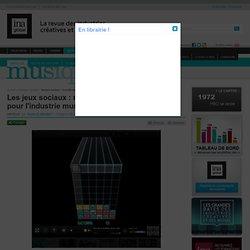 Musique - Article - Les jeux sociaux : nouvelle source de revenus pour l'industrie musicale ?
