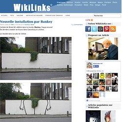 Nouvelle installation de Banksy