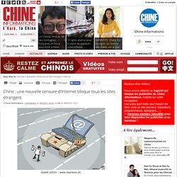 une nouvelle censure d'Internet bloque tous les sites étrangers