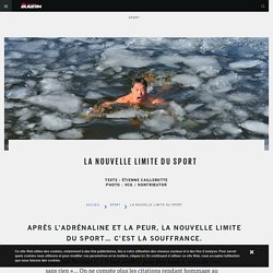 La nouvelle limite du sport - The Red Bulletin